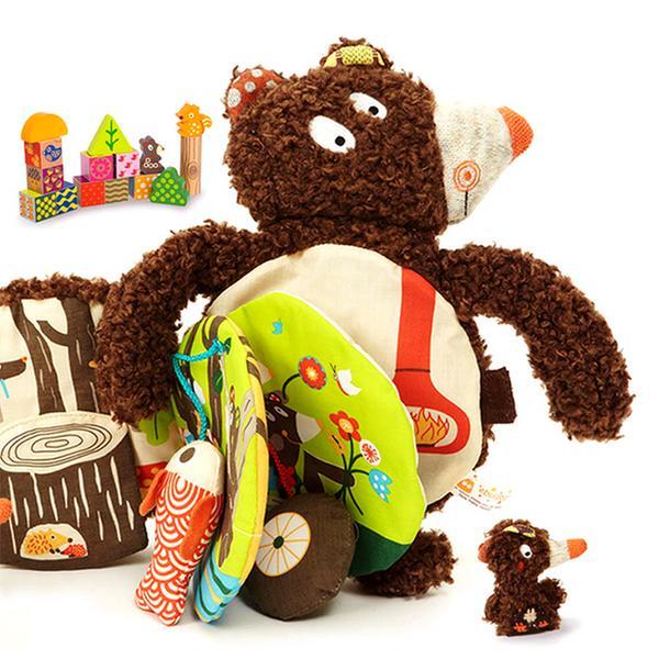 [토이] 에볼루보 - 곰 인형책과 블록