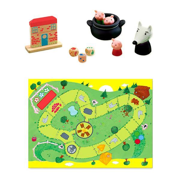 [토이]  아기 돼지 삼형제 게임 (드제코 DJECO)