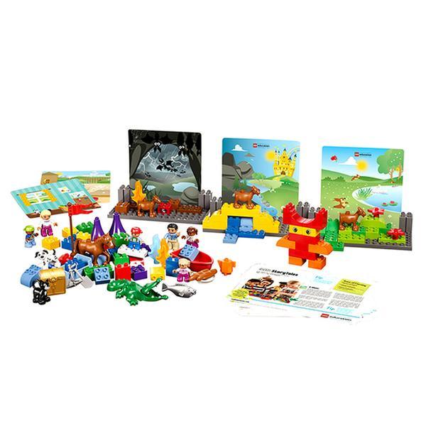 [온라인최저가] 레고 에듀케이션 - 스토리빌더 (듀플로 104pcs)
