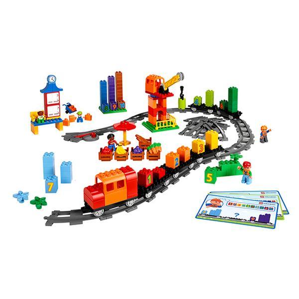 [온라인최저가] 레고 에듀케이션 - 신나는 수학기차 (듀플로 167pcs)