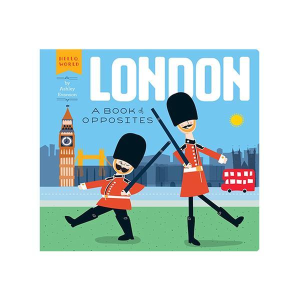 [원서 30% 할인]  London 런던 - A Book of Opposites