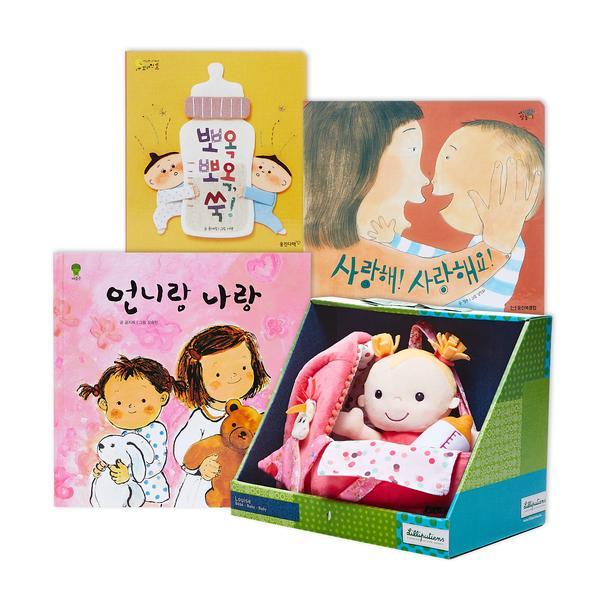 [세트] 1000만 플레이&리딩_아기돌보기책 (토이 별도 구성)