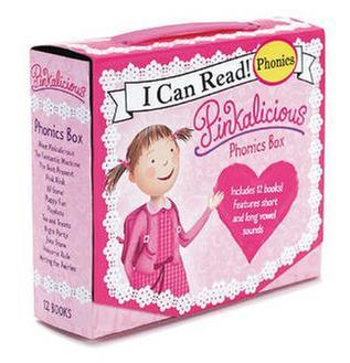 [원서] I Can Read Phonics : Pinkalicious Phonics Fun12 book Box Set