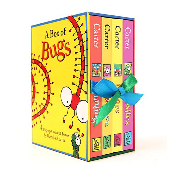 [원서] A Box of Bugs : 4 Pop-up Concept Books (Hardcover, 4종)