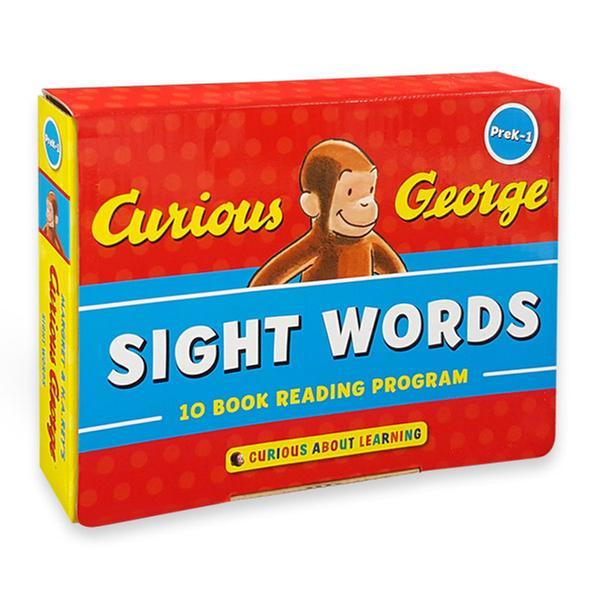 [원서] Curious George Sight Words : 10-Book Reading Program (Paperback)