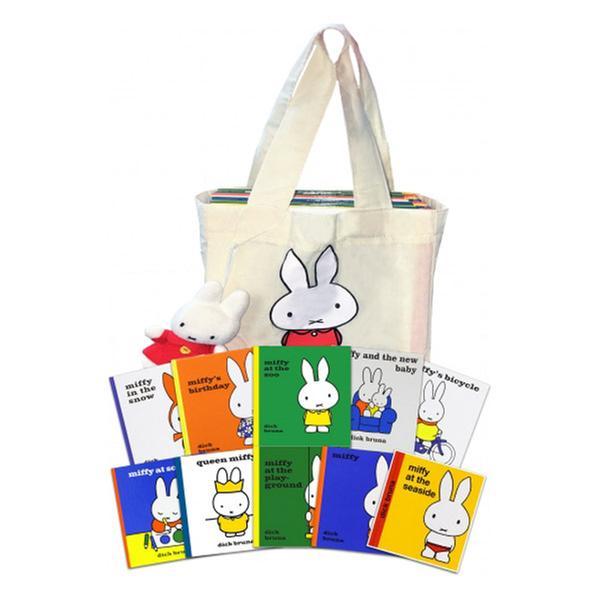 [원서] Miffy Collection with Plush Toy 미피 원서 그림책 (10권)