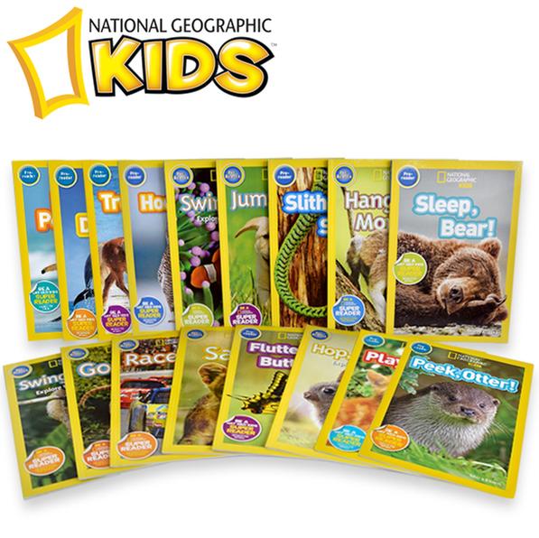 [원서] National Geographic Kids 리더스북17종 (동물피규어 증정)