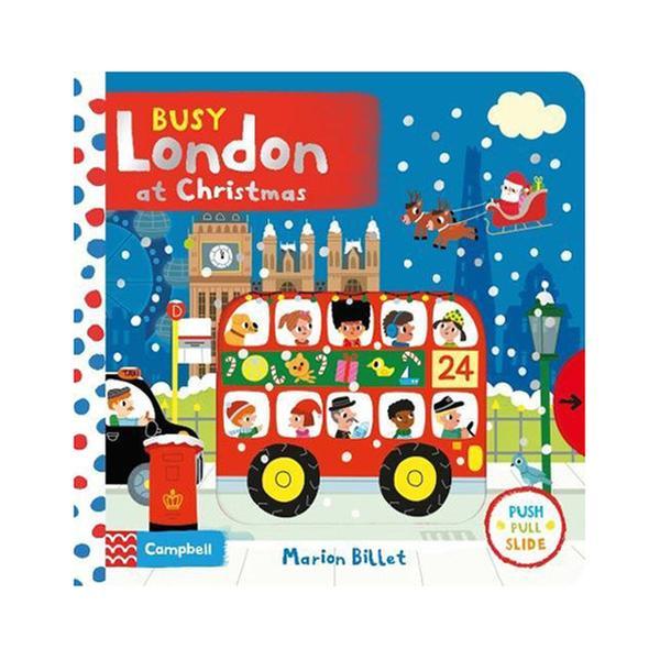 [원서] Busy Books Series : London at Christmas (Board book)