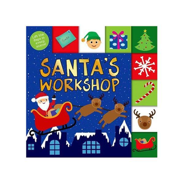 [원서] Lift-the-Flap Tab: Santa`s Workshop (Board book)