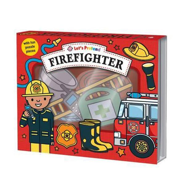 [원서] Let's Pretend : Firefighter Set (Hardcover)