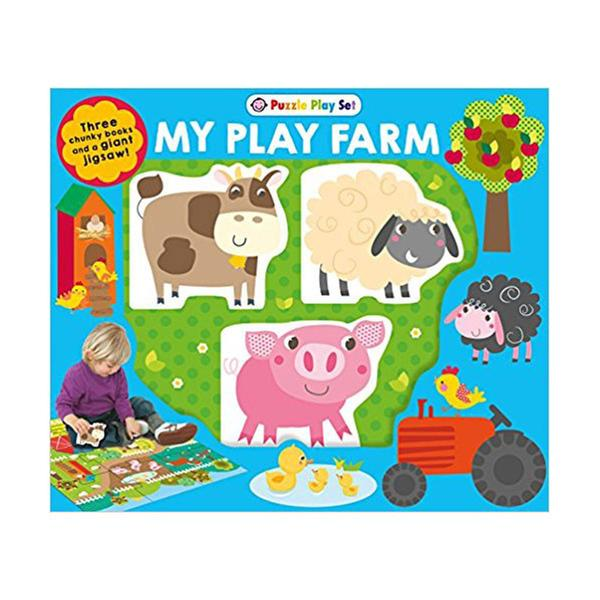 [원서] Puzzle Play Set: My Play Farm (Puzzle)