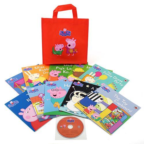 [원서] Peppa Pig : Orange Bag 10종 (Book & CD set +오렌지 가방포함)