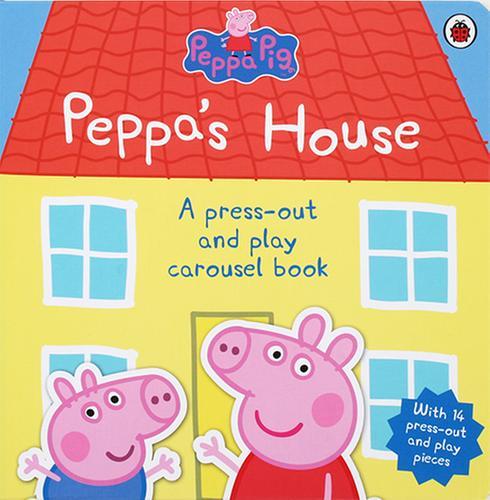 [원서] Peppa's House Carousel Book (Hardcover)