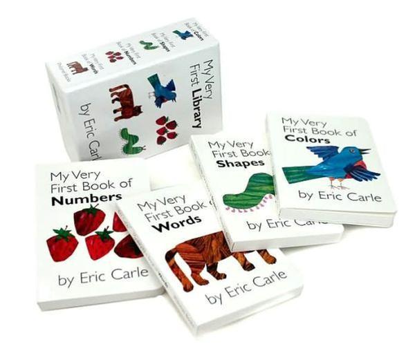 [원서] Eric Carle_My Very First Library_set