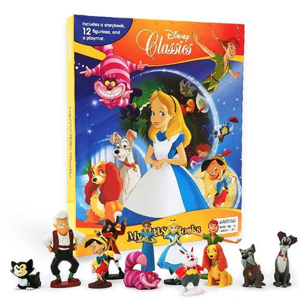 [원서] My Busy Book_Disney Classics 디즈니 12개 피규어 포함 + 플레이매트