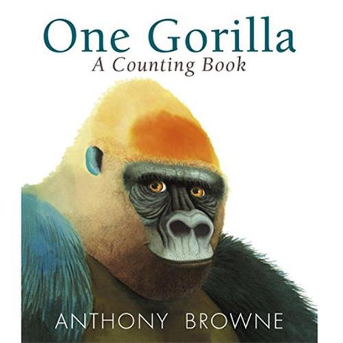 [원서] One Gorilla A Counting Book 앤서니브라운 수세기