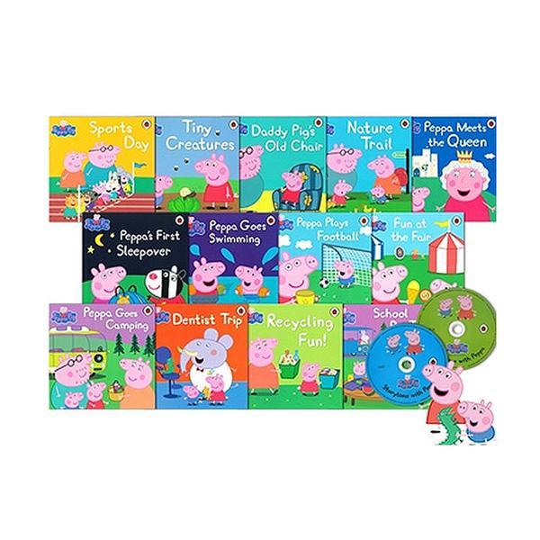 [원서] Peppa Pig 픽쳐북 13종 + Audio CD 2장(스토리리딩 CD, TV시리즈 음원CD)