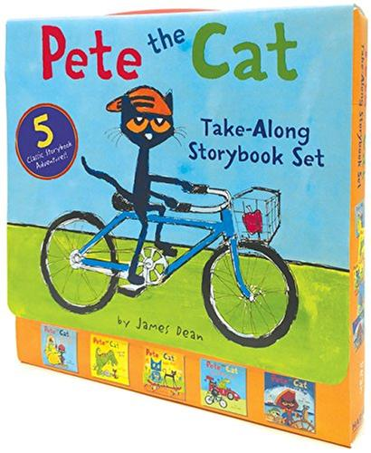 [원서] Pete the Cat Take-Along Story book 페이퍼백 5종 박스