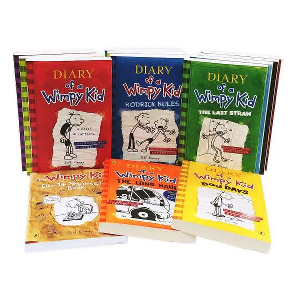 [원서] 윔피키드 정품 최저가 Diary of a WimpyKid_13권 풀세트 (영국판)