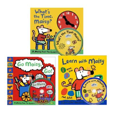 [원서] Maisy Book + CD 세트 (책 3권, CD 3장)