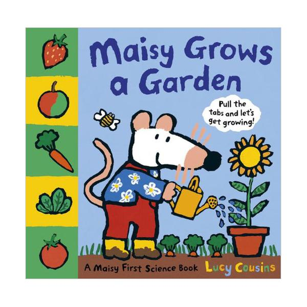 [원서] Maisy Grows a Garden (플랩북)
