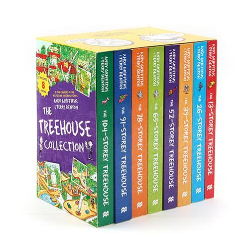 [원서] 13-104층 나무집 Tree house 8종Box Set