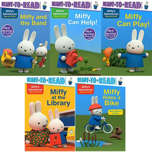 [원서]  Ready-To-Read: Miffy's Adventures Big and Small 5종 set