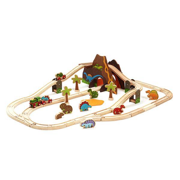 [토이] 빅지그스 - 기차와 공룡마을