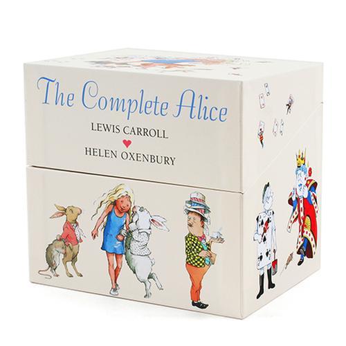 [원서]  한정판 이상한 나라의 앨리스 The Complete Alice Collection Boxed  미니 하드커버 22종 박스세트