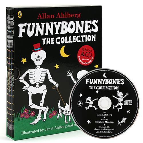 [원서] Funnybones the Collection 페이퍼백 8종 & Audio CD (1 CD) 박스 세트