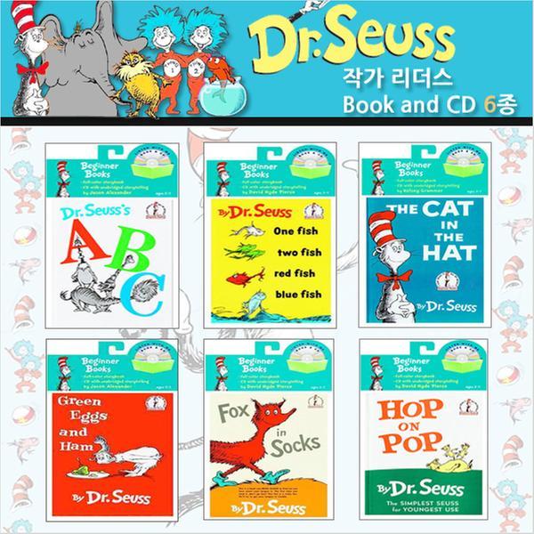 [원서] 닥터수스 Dr.Seuss's(Book&CD)시리즈6종세트