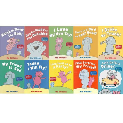 [원서] 유명한 코꿀이책! Elephant & Piggie 시리즈 페이퍼백 10종