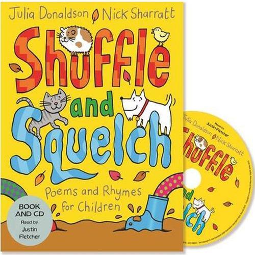 [원서] Shuffle and Squelch (Book & CD) Paperback+cd (영국판)