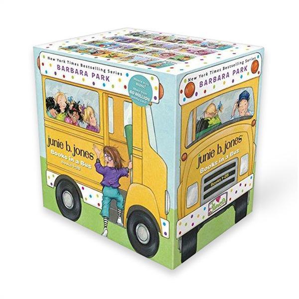 [원서] Junie B. Jones(주니비 존스) 챕터북 시리즈 #1~#28 Books in a Bus Box 세트