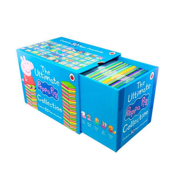[원서] The Ultimate Peppa Pig Collection : 50 Book Box Set (Paperback, 영국판)