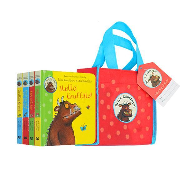 [원서] Hello Gruffalo! Collection - 4 Books in a Bag (Board Book, 영국판)