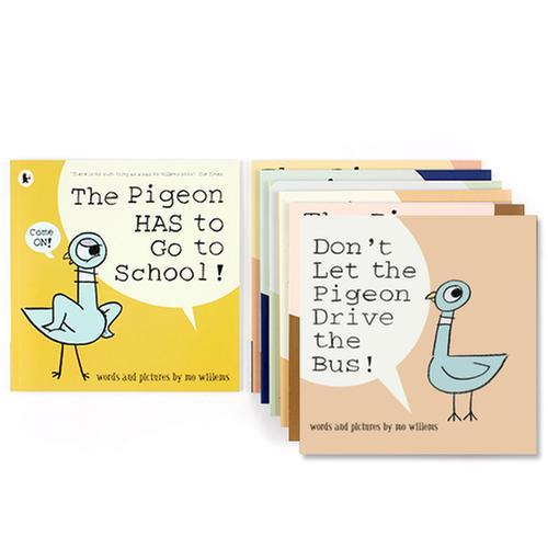 [원서] Mo Willems The Pigeon 페이퍼백 7종 세트