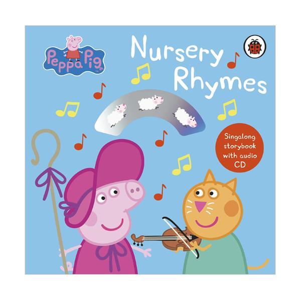 [원서] Peppa Pig : Nursery Rhymes : Singalong Storybook with Audio CD (Board book, 영국판)