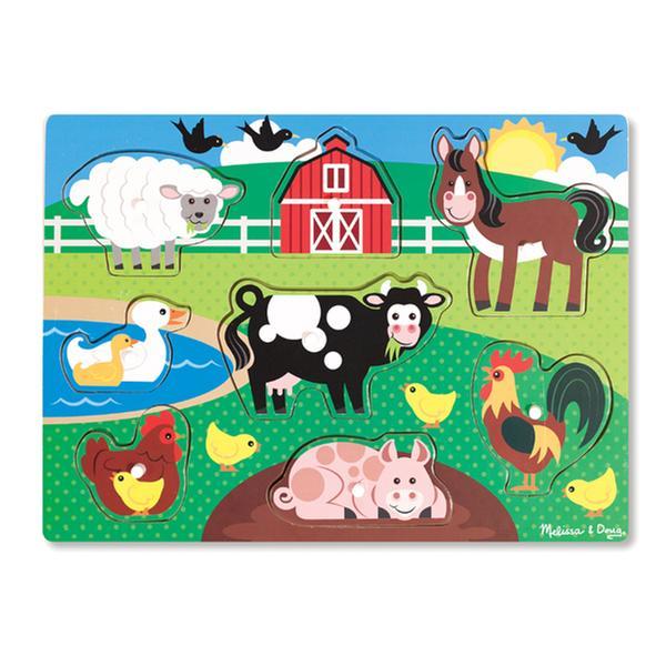 [토이] 멜리사앤더그 - 농장 꼭지퍼즐