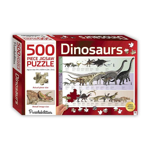 [원서] 500 Piece Jigsaw Puzzle : Dinosaurs (Puzzle)