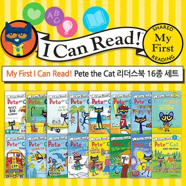 [원서] My First I Can Read Readers Pete the Cat [레벨 My First/16종] 세트