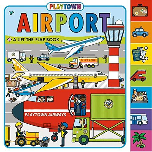 [원서] Playtown: Airport : A Lift-the-Flap book