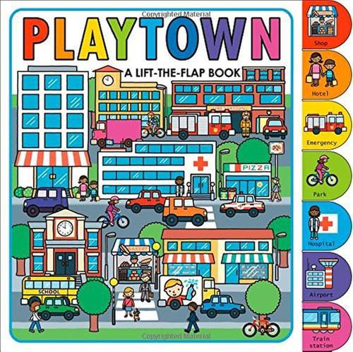 [원서] Playtown: A Lift-the-Flap Book (with over 70 flaps)