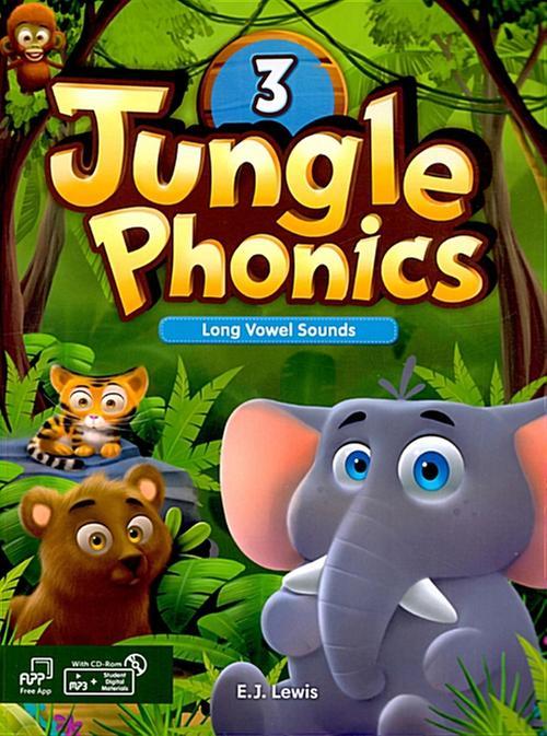 [웅진컴퍼스]  정글파닉스 시리즈 Jungle Phonics 3 [ Paperback, Student Book + MP3 CD including ]