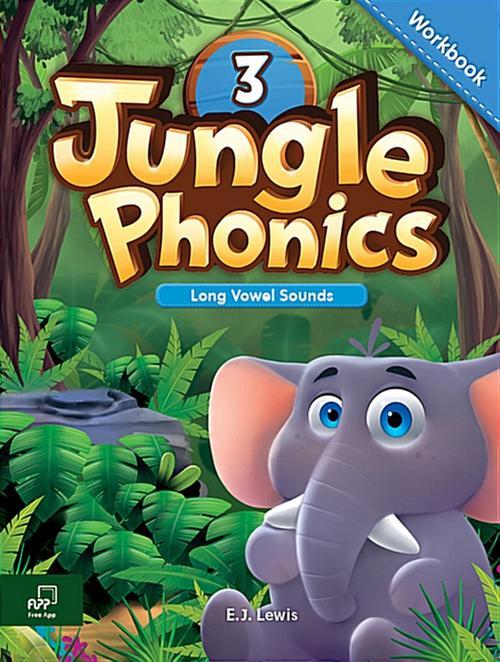 [웅진컴퍼스] 정글파닉스 시리즈 Jungle Phonics 3 워크북