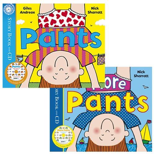 [원서] Nick Sharratt 유머 그림책 Pants 시리즈 (Book&CD) 2종 세트