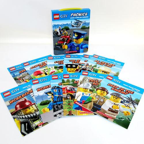[원서]LEGO City Phonics Boxed Set Paperback boxed set (미국판)