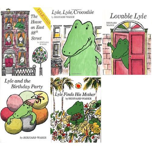 [원서] Lyle the Crocodile (Paperback) 5종 세트