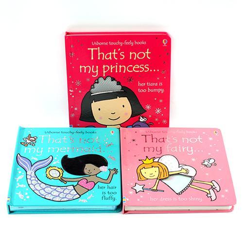 [원서] That's not my 시리즈 B세트 3종(Usborne Touchy-Feely Books)