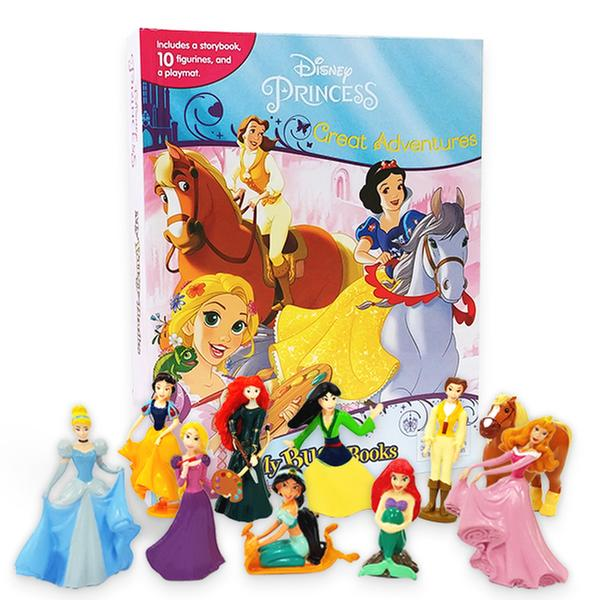 [원서] My Busy Books : Disney Princess Great Adventures (10 Figures/Hardcover)